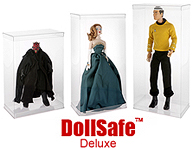 DollSafe™ DELUXE Doll Boxes & Doll Display Cases