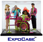 ExpoCase™ Plastic Doll Display Cases