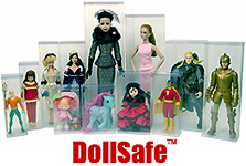 DollSafe™ Brand Doll Boxes & Doll Display Cases