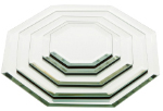 Octagonal 3mm Beveled Glass Mirrors