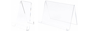Clear Acrylic Book Easels