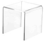 Clear Acrylic Square Risers
