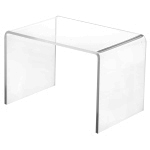 Clear Acrylic Rectangular Risers