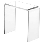 Clear Acrylic Tall Rectangular Risers