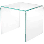 """Glass Edge Beveled"" Acrylic Risers"