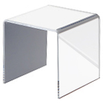 Mirrored Acrylic Square Risers