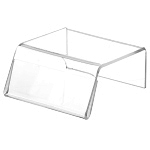Clear Acrylic Sign-Holder Risers