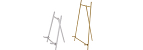 Silver & Brass Easels