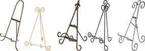 Wrought Iron Easels