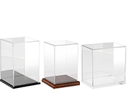 Acrylic Display Cases with Base