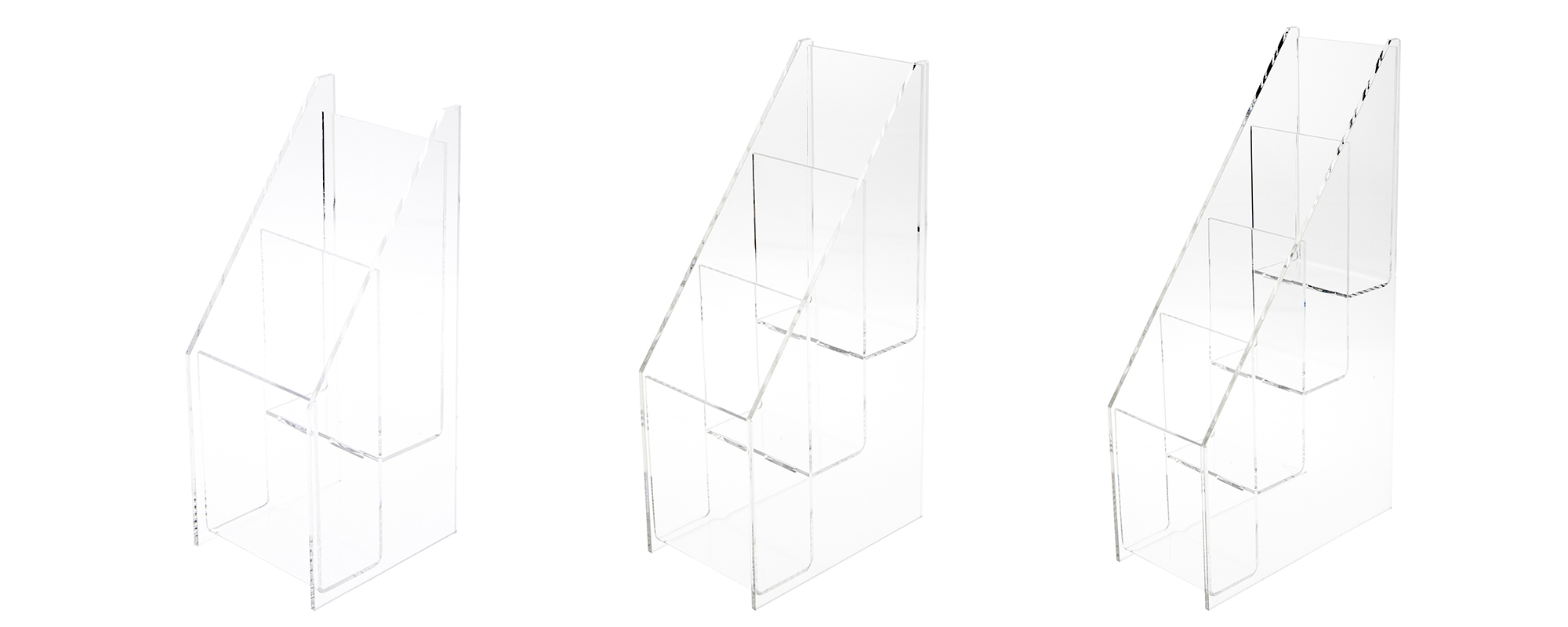 Acrylic Brochure / Literature Racks