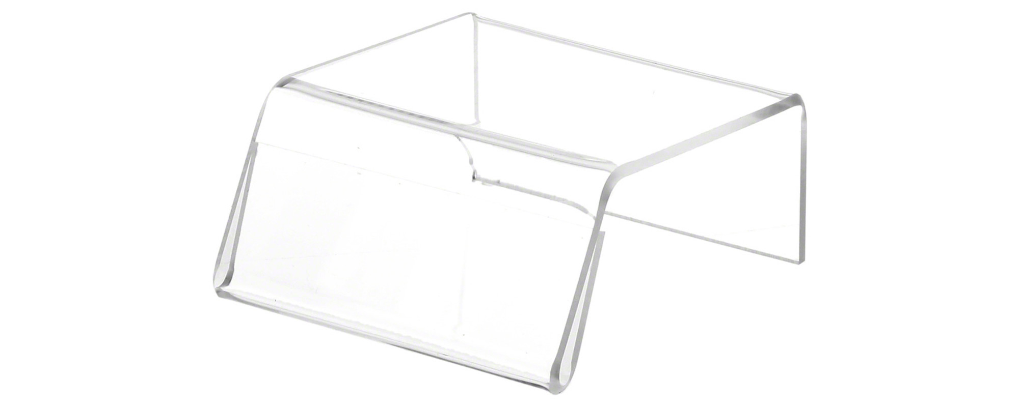 Clear Acrylic Riser Sign-Holders