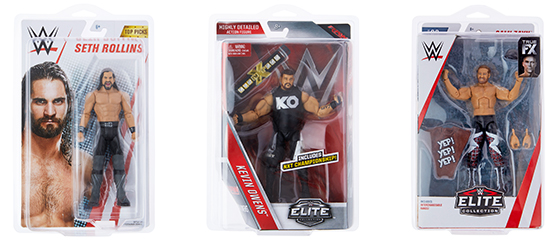 Cases for Packaged WWE Wrestling Figures