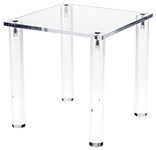 Acrylic Square or Rectangular Countertop Tables