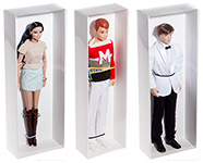Redoll™ Doll Display Boxes and Liners