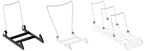 Adjustable Wire Easels with Acrylic Base