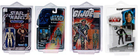 Star Cases for Packaged Action Figures