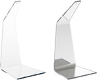 Clear Acrylic Angled Ornament Hanger Stands
