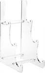 Clear Acrylic 3-Tier Display Easels