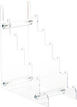 Clear Acrylic 6-Tier Display Easels