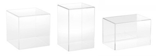 Acrylic Display Cases with no Base
