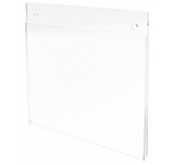 Wall-Mount Acrylic Sign Displays / Document Holders