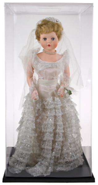 Expocase Plastic Doll Display Case 15 Quot X 15 Quot X 29 Quot